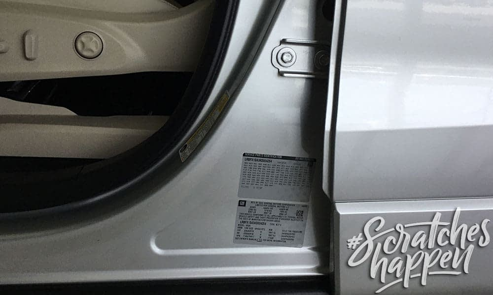 Chevrolet Paint Code Location (Wide)