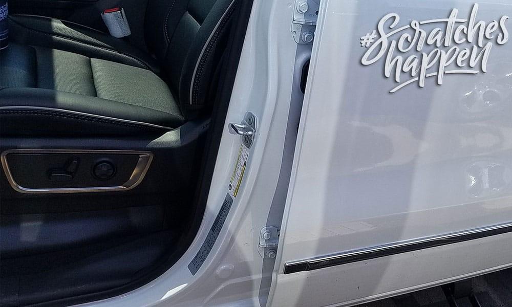 Dodge Paint Code Location (Wide)