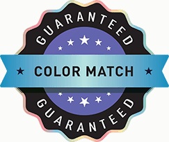 Color Match Guaranteed
