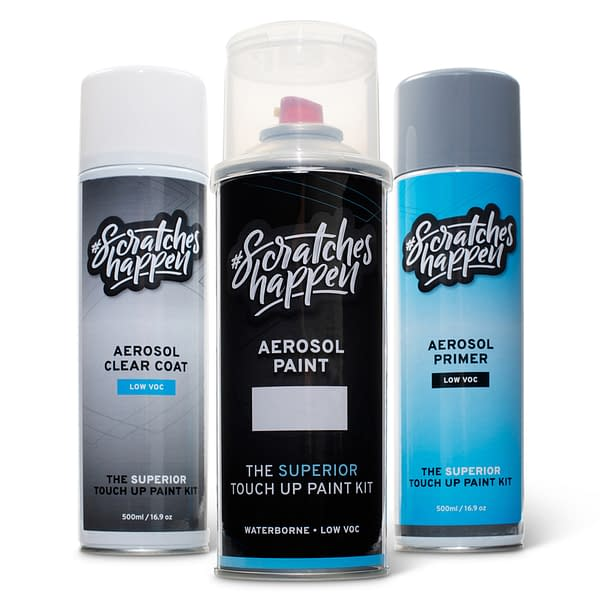 ScratchesHappen® Touch Up Paint Kit (Aerosol - Preferred)